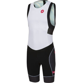 Castelli Free ITU Tri Suit Men white/black
